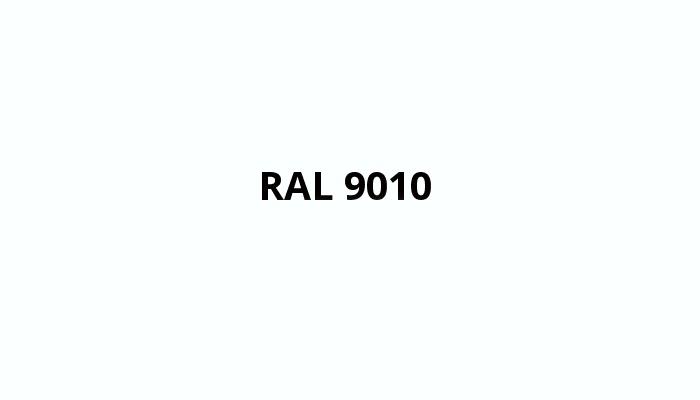 bílá RAL 9010