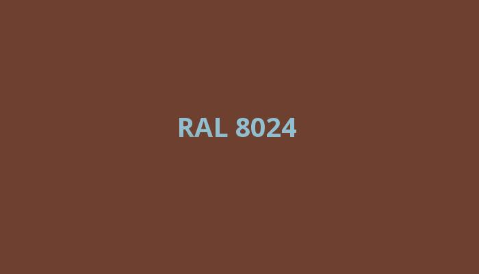 hnědá RAL 8024