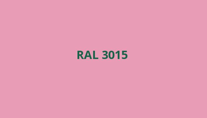 růžová RAL 3015