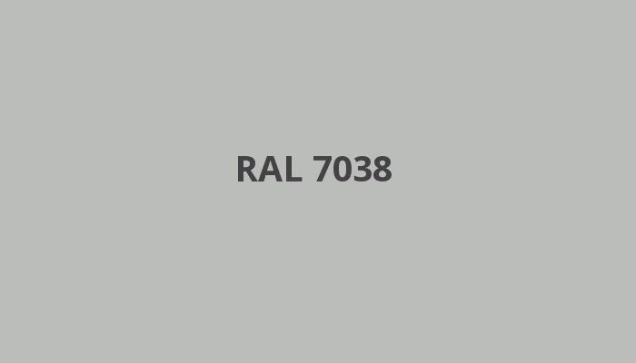 šedá RAL 7038