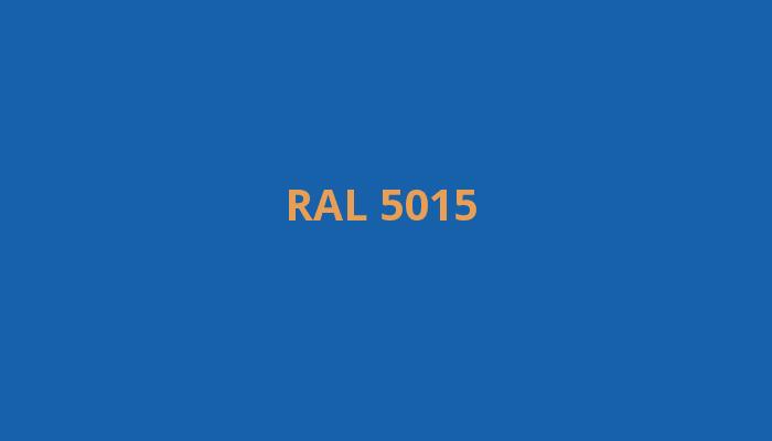 modrá RAL 5015
