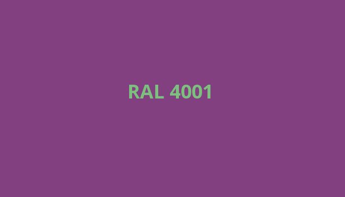 fialová RAL 4001